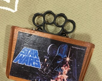 Star Wars Themed Cigar Box Purse