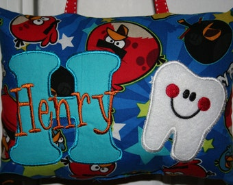 Tooth Fairy Pillow for Boys - Angry Birds