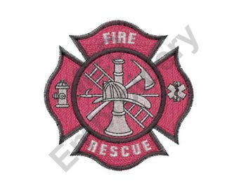 Fire Department - Machine Embroidery Design
