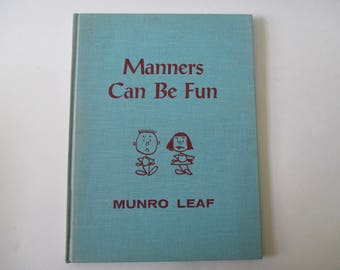 Manners Can Be Fun by Munro Leaf