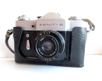 ZENIT B (V) Russian SLR camera USSR Vintage 70s
