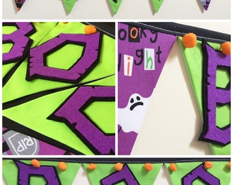 Halloween decoration - halloween bunting