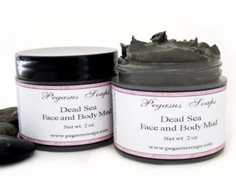 Dead Sea Face and Body Mud Mask 2 oz Facial Mask, Facial Care