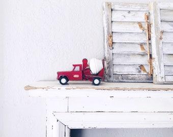 Vintage Tonka Toy Truck // Nursery Display