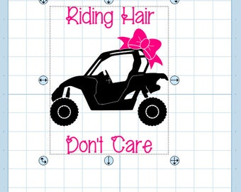 Riding Hair Don't Care