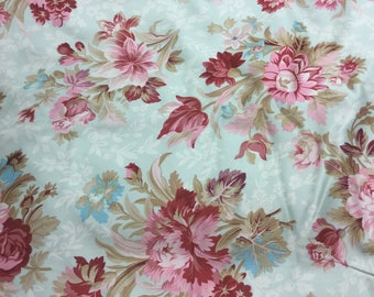 GORGEOUS Floral Drapery/Upholstery Fabric! BTY
