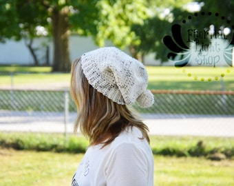 ALL SIZES/COLORS Slouchy Pom Beanie