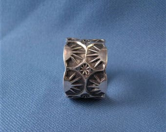 Size 16 Men's Silver Ring