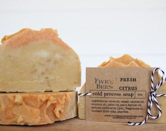 Fresh Citrus - Cold Process Soap