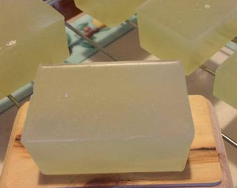 Soothing Olive Oil Honey Soap