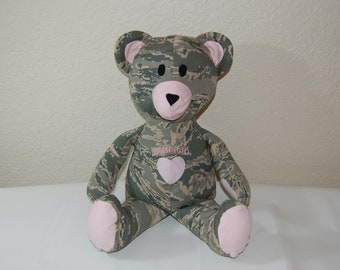 Air Force Deployment Teddy Bear