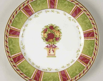 Old Country Roses - Seasons Of Color Salad Plate