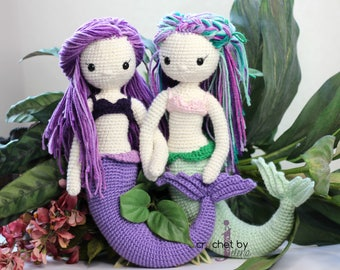Crochet Mermaid Dolls