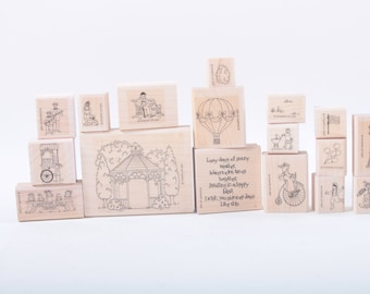 Stampin Up, Summertime, Lazy Days, Retro, Park Activities, Vintage, Stamp Set, In a box, Scrapbooking, Card Making ~ Sir Stampinton ~ 170316