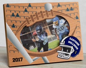 Football Picture Frame, Personalized Football Picture Frame, Kids Sports Picture Frame, Kids Football Frame, Sports Picture Frame For Kids