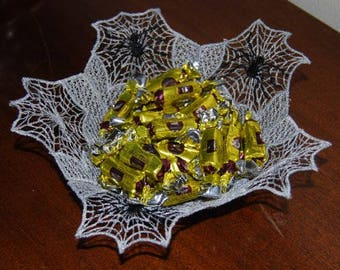 SpiderWeb Bowl and Bookmark