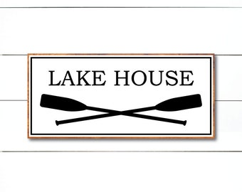 Lake House svg, Lake svg, Summer svg, Modern Farmhouse Sign, FixerUpper, Magnolia Market, Joanna Gaines, Stencil, Cut File, vector, dxf, png