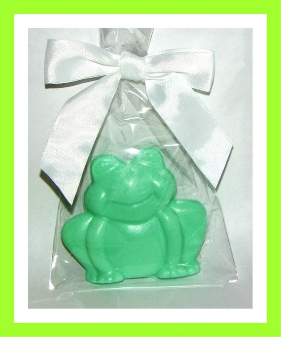 24 Frog Soap Favors,Baby Shower Favor,Personalized Baby Shower Button Pin,Its a Girl,Its a Boy,Kid Soap,Animal Soap,Birthday Party Favors