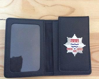 London Fire Brigade ID card wallet