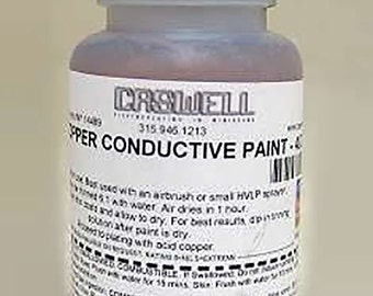 4 oz Copper Conductive Paint
