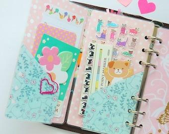 Kitty Personal / Pocket Planner Folder