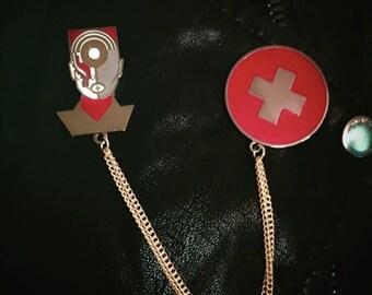 Grace Pin Set w/Chain
