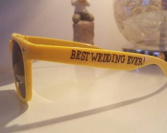 Personalised Wedding/Hen/Stag Sunglasses