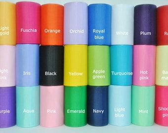 7/8 x 50 yds GROSGRAIN RIBBON - Your Choice of Colors**On Sale Now**
