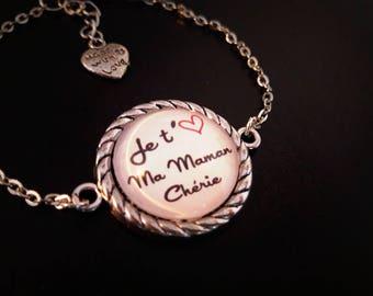 Bracelet I love you MOM, mother's day