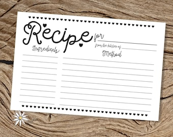 recipes on index cards melo in tandem co