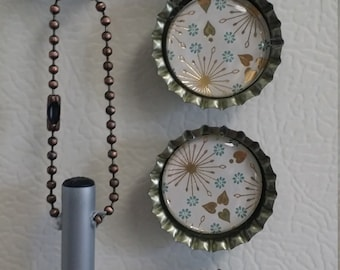 Bottle Cap Pen Magnet Set