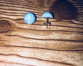 Turquise Marble Earrings