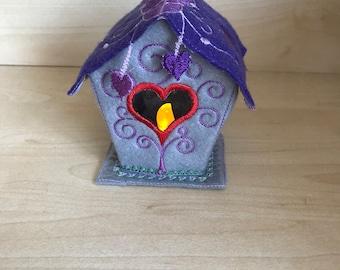 Light up Bird House