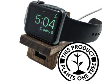 Apple watch stand Apple watch dock wood apple watch band strap 42mm 38mm apple watch charging station iwatch stand iwatch dock