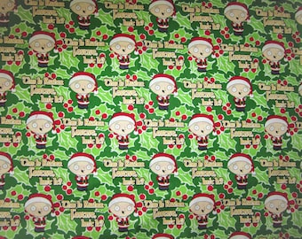"FAMILY GUY Stewie Griffin Christmas FABRIC ""This is Rather Festive Isn't It?"""