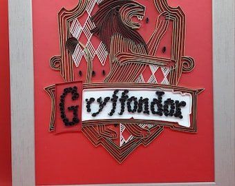 Harry Potter Quilling - Part 1 Gryffindor