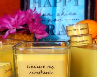 You are My Sunshine - Yuzu and Blended Citrus Scented Candle