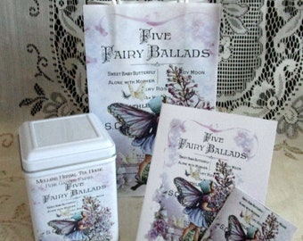 I Believe in Fairies Tea  Gift Bag Set