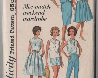 Simplicity 4808 Mix & Match Weekend Wardrobe