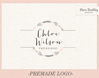 Custom Logo Design, Premade Logo, Watermark - FB133