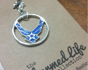 CHARMED ACCENT - Air Force Wings