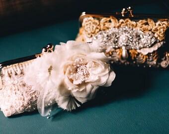 Custom Bridal Handbag