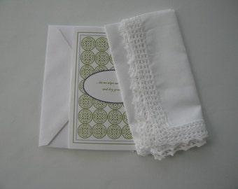 Keepsake Memorial Handkerchief