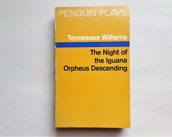Tennessee Williams - 1968 - Penguin Plays - Paperback Book - Second hand books