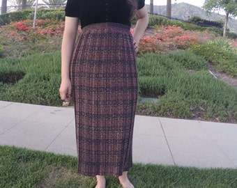 HIGH Waisted LONG Pleated Skirt