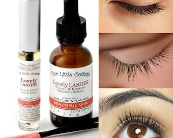 Eyelash Growth Serum, LOVELY LASHES, Eyelash Serum, Eyelash Boost, Lash Boost, Hair Growth, Eyelash Strengthener, Eye Lash Growth Serum