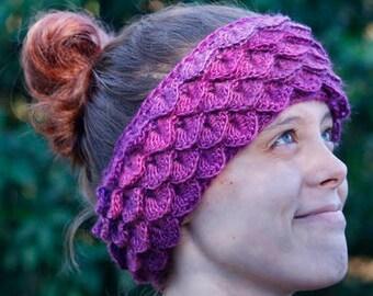 Crochet Pattern - Dragon Tears Ear Warmers