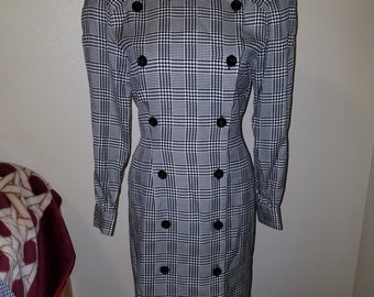 Vintage Nipon Boutique houndstooth dress