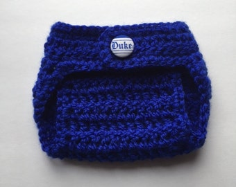 Duque de pañales cubierta, cubierta de pañal de Duke Blue Devils, duque regalos de bebé, pañales recién nacido, cubierta de pañal de bebé, niño pañal cubierta
