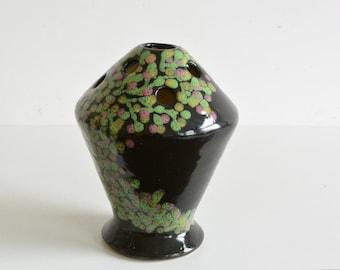NISSY ANNECY  Vase by Rene Anchierri Pique Fleurs France